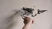bird armature - folded wings 2