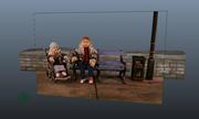 Making a CG Wall behind a Stop-motion Still