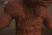 Harryhausen Cyclops sculpt skin detail