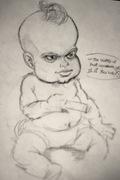baby Welles sketch
