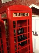 phone box wooden