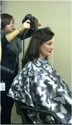 In hair and makeup for The Dr. Oz Show