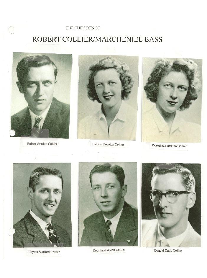 RobertCollier children photos from archive