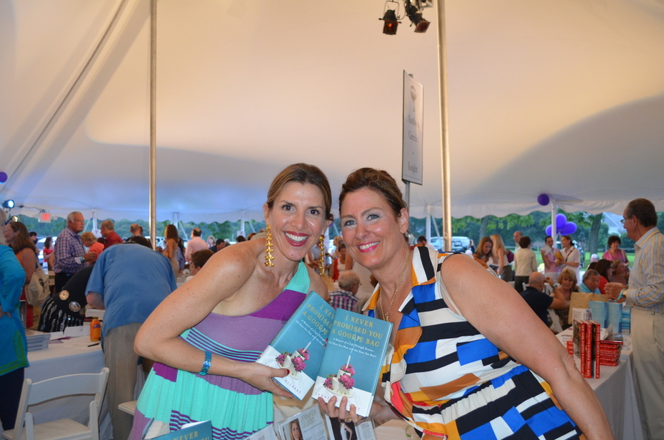 With Event Planner RHONY and Author Jennifer Gilbert