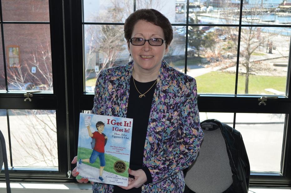 Dr. Loraine Alderman, author of I Get It, I Get It