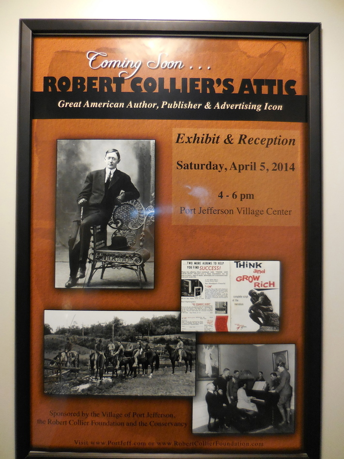 Opening Reception for Robert Collier's Attic, A Great American Author, Publisher and Advertising Icon
