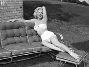 """Marilyn Monroe Before Shooting """"Gentlemen Prefer Blondes"""""""