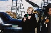 """Marilyn Monroe During the Filming of """"Bus Stop"""""""