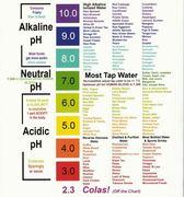 alkaline to acidic pH of foods