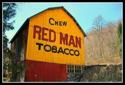 Old Red Man Building