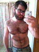 beard is gettin a bit bushy