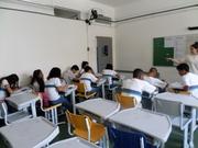 E.M. Vicente Licinio Cardoso Aplicação dos Questionários (2)