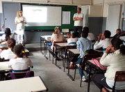 Palestra Colaborativa na Escola Benjamin Constant