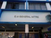Vista geral da Escola General Mitre