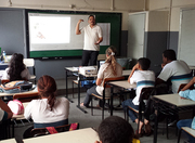 Palestra Colaborativa na Escola Benjamin Constant (2)