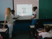 Palestra Colabaorativa na EscolaBenjamin Galloti