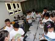 Simulação de Curadoria de Acervo na Escola Vicente Licínio (2)