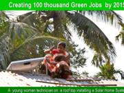obama 2 year countdown to 5 million green jobs