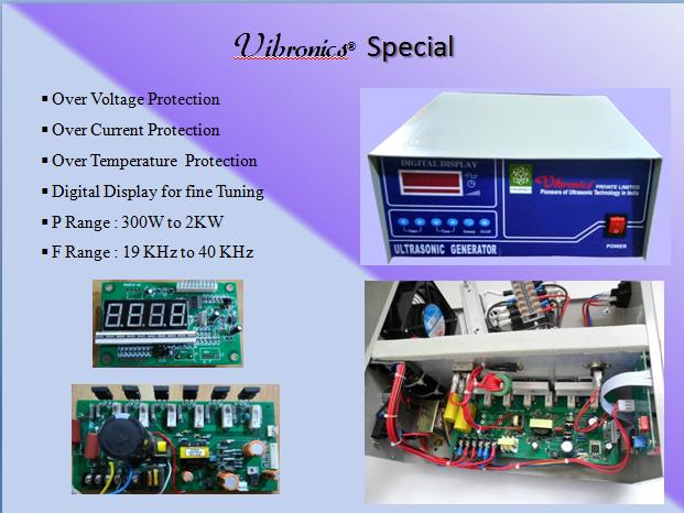 Vibronics Digital Ultrasonic Generator