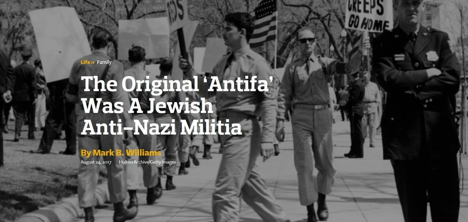 The Original Antifa Was A Jewish Militia