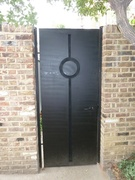 Gates for Temple Lodge, London