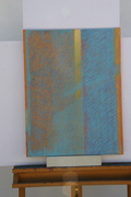 Ray of light. Acryl on canvas. 46X38. 2007