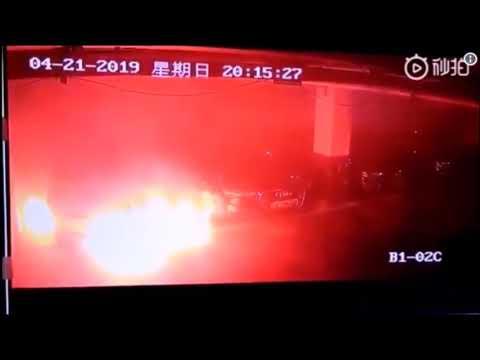 TESLA INVESTIGA EL INCENDIO DE UN MODEL S EN SHANGHAI