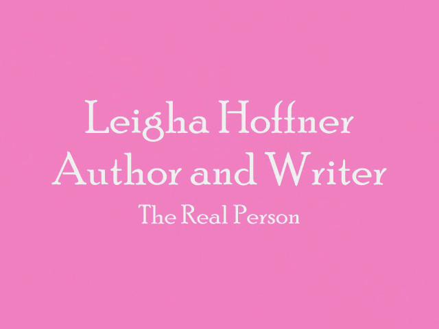 Leigha Hoffner- Author