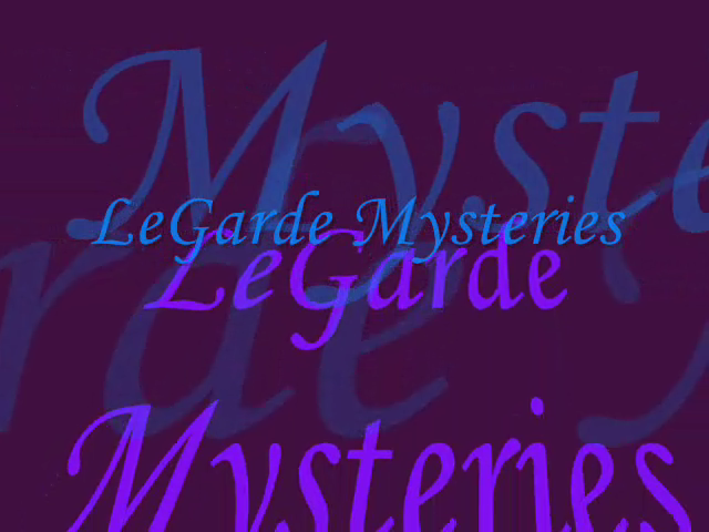 Book Trailer for LeGarde Mysteries