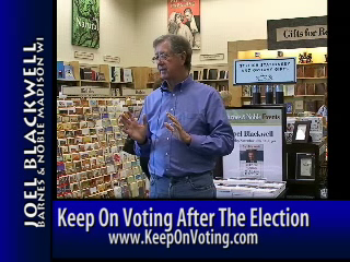 Store lecture Keep On Voting