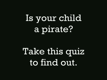 The Pirate Quiz