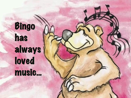 Bingo The Banjo Picking Bear