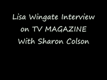 Lisa Wingate Interview on TV Magazine video