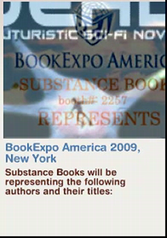 Substance Books Representing the following titles at BookExpo America