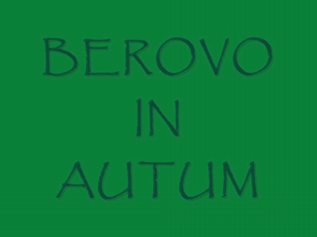 BEROVO IN AUTUM