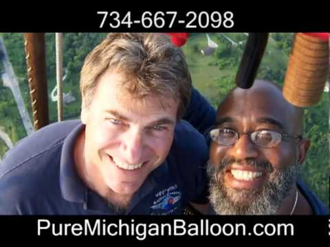 Christmas Gift ~ Pure Michigan ~ Hot Air Balloon Ride
