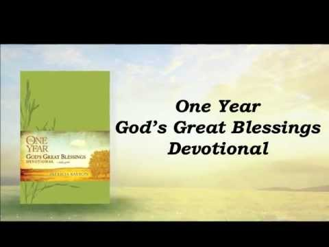 One Year God Great Blessings by Patricia Raybon
