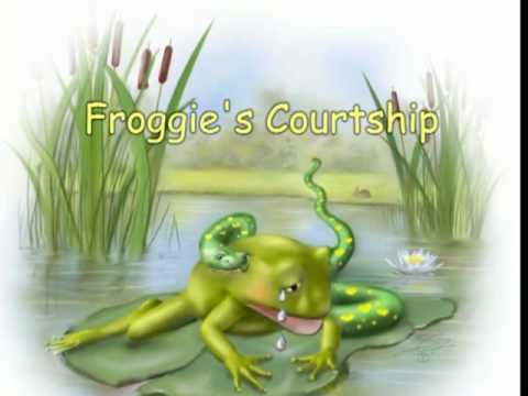 Children's Book Illustrations --- Froggie's Courtship