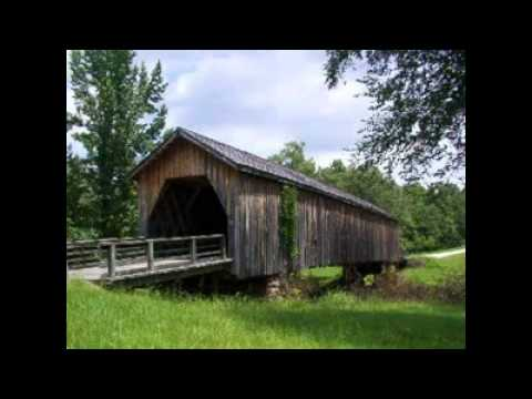 Covered Bridges By Trisha Blue Water.wmv