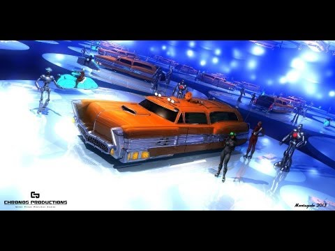 "HD Videogame Concepts. ""Dragonfly"" AIR CAR TECH NOIR: Escape from Deneb IV. v3 - Narrated"