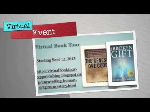 Unravelling The Human Origins Mystery Book Tour Sept - Oct 2013