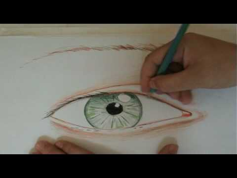 Teckna ögon