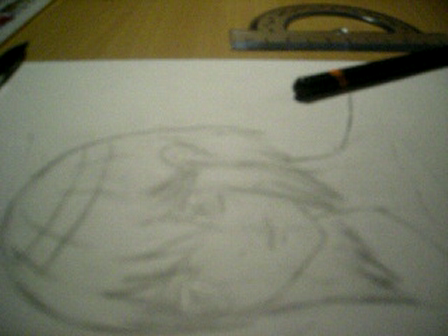 hur jag fyller i min teckning