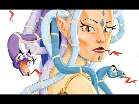 Teckna Medusa