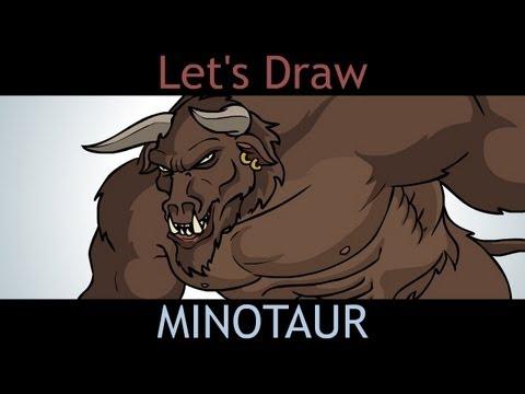 Teckna Minotaurus