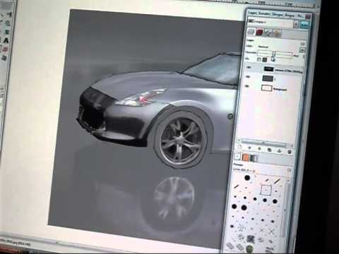 Speed painting Nissan