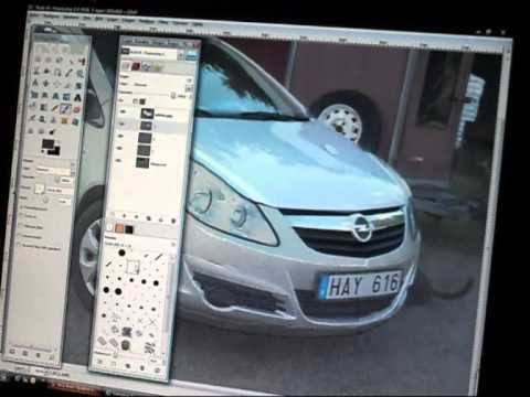 speed painting Opel Corsa 1.2