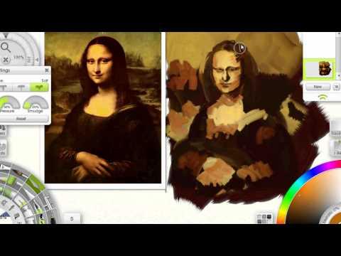 Speedpaint Efter Mona Lisa
