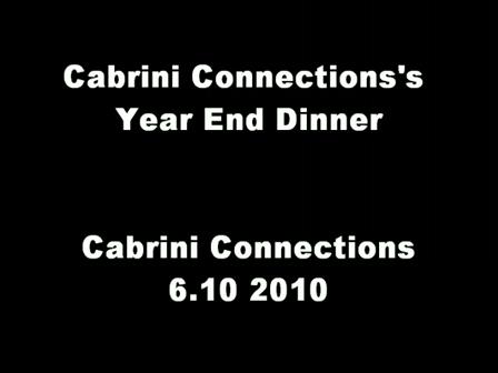 2010 Year End Dinner