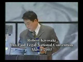 Robert Kiyosaki about Pre-Paid Legal